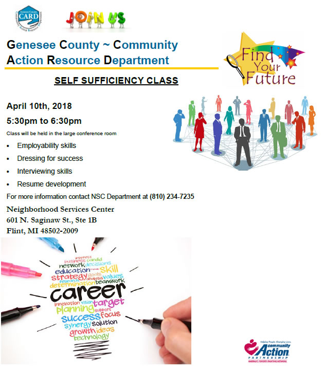 2018 self sufficiency class april